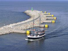 #Kolobrzeg - widok z latarni 3 - 100 km wybrzeżem Bałtyku - http://www.turisticus.pl/100-km-wybrzezem-baltyku-relacja/