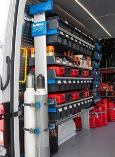 Van Storage, Tool Storage, Van Organization, Van Shelving, Van Racking, Work Trailer, Mobile Workshop, Garage Solutions, Workbench Designs