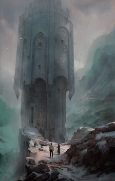 ArtStation - Sacrifice Tower, Pawel Hordyniak