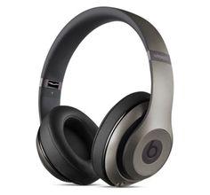 Beats By Dr. Dre Studio Wireless Over-Ear Bluetooth Headphones Titanium MHAK2AM