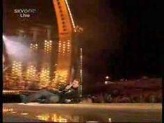 Robbie Williams glisse