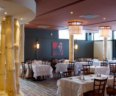 LEMAYMICHAUD | Architecture | Design | Museum | Exhibition | Hospitality | Hotel | Dinning Room | Eatery | Seating |