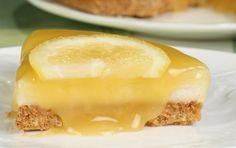 Γιαουρτογλυκό με ζαχαρούχο, μπισκότα και λεμονάτη επικάλυψη - iCookGreek