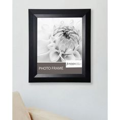 American Made Rayne Solid Black Angle Frame (Black Frame, picture size 16 x 20) (Wood)