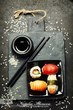 Sushi set by klenova. Please Like http://fb.me/go4photos and Follow @go4fotos Thank You. :-)