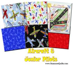 Junior Pilots and Aircraft Collection. Kit available!