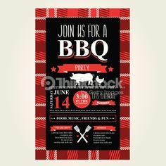 Vektorgrafik : Barbecue party invitation, bbq brochure menu design. Bbq Catering, Bbq Party, Menu Design, Barbecue, Party Invitations, Fun, Invitations, Barrel Smoker, Bbq