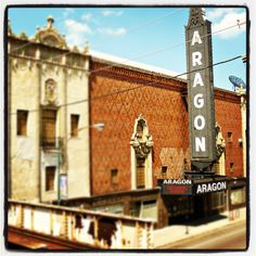 Opened in 1926, the Aragon Ballroom replicates a lavish Spanish courtyard with intricate mosaic tiles, palm trees and a ceiling imitating a starlit sky. See it during Open House Chicago—a free festival weekend this October 13-14 that gets you behind-the-scenes of 150 buildings across the city. www.openhousechicago.org #OHC2012 Who's ready for Open House Chicago 2012! Woohoo!