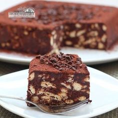 From my kitchen: Biscuit Cake Romanian Desserts, Romanian Food, No Cook Desserts, Delicious Desserts, Yummy Food, Sweet Recipes, Cake Recipes, Dessert Recipes, Cocinas Chocolate