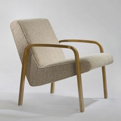 Joseph-André Motte; #740 Armchair for Steiner, 1958.