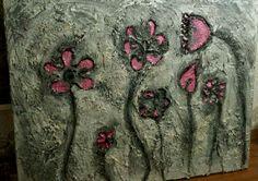 Schilderij beton