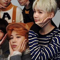 Jimin and yoongi yoonmin Taekook, Bts Memes, K Pop, Yoonmin Fanart, The Scene, I Love Bts, Bts Group, Bts Pictures, Bts Boys