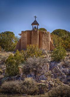Church at de Las Golondrinas_..and upon this rock . New Mexico