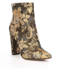 97b8fece Jessica Simpson Teddi Floral Brocade Ankle Boots Jessica Simpson Shoes,  Bootie Boots, Ankle Booties