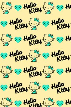 Hello kitty wallpaper discovered by Alycia on We Heart It Hello Kitty Art, Hello Kitty Themes, Hello Kitty Pictures, Sanrio Hello Kitty, Hello Kitty Iphone Wallpaper, Hello Kitty Backgrounds, Little Twin Stars, Keroppi, Whatsapp Wallpaper