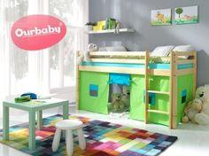 Dětská vyvýšená postel Ourbaby Modo