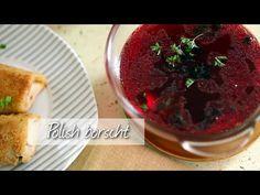 Cosy up to a bowl of this warming Polish borscht - a vegetarian borscht recipe that'll please everyone!