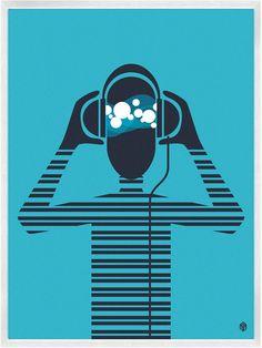 La música también se ve. #illustration #design #music