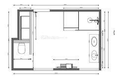 Knappe badkamer in vintage stijl afgewerkt met hoogwaardige materialen. De hang-wc van Duravit zit discreet weggewerkt achter een hoekje. Rond de inloopdouche hebben we spiegelglas geplaatst zodat het spatwater binnen de douche blijft. In de douche hebben we een nis uitgewerkt met tegels. De XL-tegels (100 x 100cm) van Cotto …