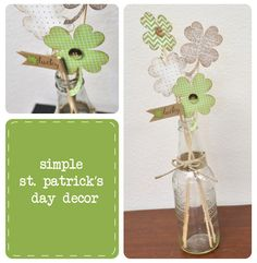 simple St. Patrick's day decor