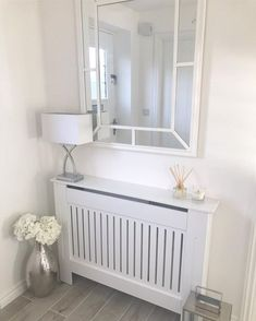 Radiator Cover Small – White Vertical Style Radiator Cover Small – White Vertical Style,Heizkörperverkleidung Related Simple DIY Summer Decoration with Perfect Design - Foyer decoratingketo diet for beginners - -. Interior Design Living Room, Living Room Designs, Interior Decorating, Small Hallway Decorating, White Radiator Covers, Modern Radiator Cover, Home Radiators, Hallway Designs, Hallway Ideas