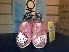 Hello Kitty : Tiny Custom TOMS