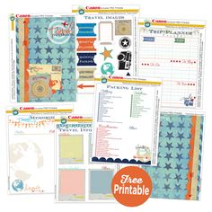 July 8th: Canon Travel Planner by Heidi Swapp, Marshmallow Tower Kids Craft Tip, Reclaimed Wood Album Kit