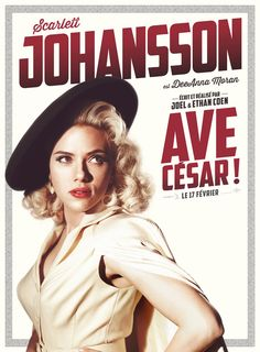 Scarlett Johansson dans le film Ave Cesar des freres Coen