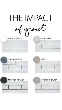 What Color Grout to Use with White Subway Tile . What Color Grout to Use with White Subway Tile . White Subway Tile with Dark Grout Shower Tiledshower Kitchen Redo, Kitchen Backsplash, New Kitchen, Kitchen Remodel, Kitchen Small, Kitchen Renovations, Kitchen Ideas, Design Kitchen, Kitchen Makeovers