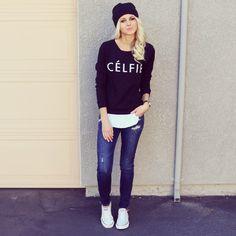 celfie sweater