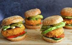 Crispy 'Chicken' Sweet Potato Sandwich [Vegan] | One Green Planet