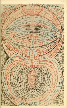 """Well, actually intentional--""""Writing of the Insane"""", and early images of Art Brut/Outsider Art Melencolia I, Lettering, Typography, Mental Asylum, Insane Asylum, Art Brut, Outsider Art, Sacred Geometry, Occult"""