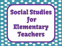 Social Studies for Elementary Teachers Pinterest Board! www.FernSmithsClassroomIdeas.com