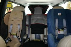 List of vehicle/car seat combos that fit 3 across (many, many, many listed)