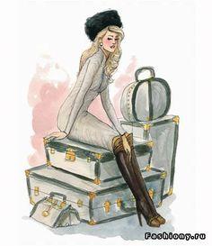 Новые рисунки от Inslee Haynes / рисунки моды