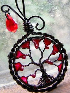 24 years old, I am a fairly new artist who just began her wire-wrapping journey in January of 2013. After coming across some beautiful wire-wrapped stone cabochons a few months before, it became so...