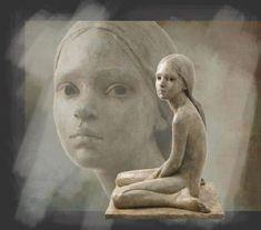 Artodyssey: Louis Treserras and Berit Hildre Sculptures Céramiques, Art Sculpture, Pottery Sculpture, Modern Sculpture, Modern Art, Contemporary Art, Art Du Monde, Paperclay, Henri Matisse