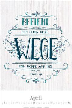 Dein Wort 2017 - Poster-Kalender - gerth.de