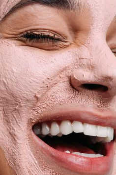 Our Rose Clay Face Mask works as a gentle exfoliant to soothe the skin. Gentle and good for all skin types, especially helpful for acne-prone skin. Use your clay mask times per week as a supplement skin care routine to help minimize pores and . Best Clay Mask, Clay Face Mask, Clay Masks, Face Masks, Face Mask Skin Care, Gesicht Mapping, Dm Online Shop, Bentonite Clay Mask, Face Mapping