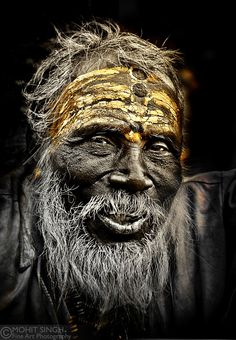 "Indian ""Sadhu 2"" by Mohit Singh, via 500px."