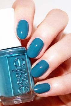 Strong colors like dark are modern this fall, however, in a wish to get a strong color, be careful not to overdo with the amount of nail polish, which is applied because too much paint will not look good on your hands.