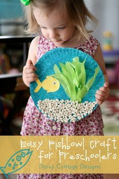 Under The Sea Kids Crafts ~ @Kathy Chan Chan Chan Copley Caywood MOM! We should do this with the kids!