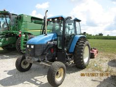 New Holland TS100 cab tractor