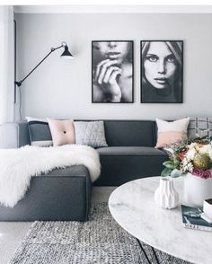 Dark Gray sofa Living Room Inspirational Charcoal Couch Oh Eight Ohne … Grey Couch Decor, Light Gray Couch, Dark Grey Couches, Charcoal Couch, Black Sofa, Charcoal Sofa Living Room, Charcoal Gray, Gray Room Decor, Wall Decor
