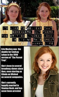 The Alternate Life Of Lindsay Lohan. I am so glad that I am not the only person who has ever thought of this.