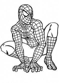 Printable Superhero Coloring Pages Free Mobile