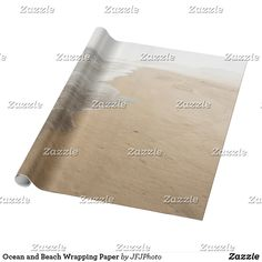 Shop Ocean and Beach Wrapping Paper created by JFJPhoto. Create Yourself, Wrapping, My Design, Wraps, Ocean, Paper, Beach, Gifts, Presents