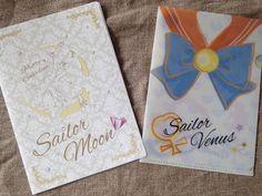 Sailor Moon Mini Clear File Folder Sailor Venus Aino Minako A5 size Kawaii Japan