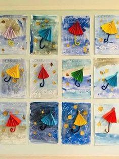 The Best Winter Art Projects for Kids and Teens Kindergarten Art, Preschool Crafts, Crafts For Kids, Arts And Crafts, Autumn Crafts, Spring Crafts, Classe D'art, Winter Art, Art Activities