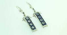 .925 sterling silver rushnyk earring design.